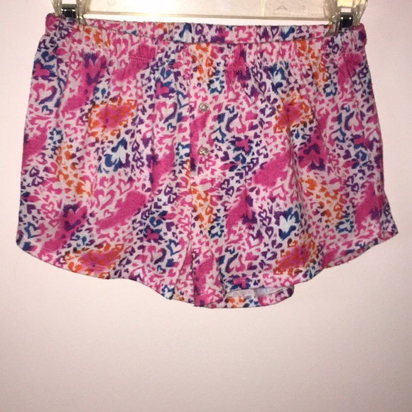 The Children's Place Other - CHEETAH PRINT PAJAMA SHORTS